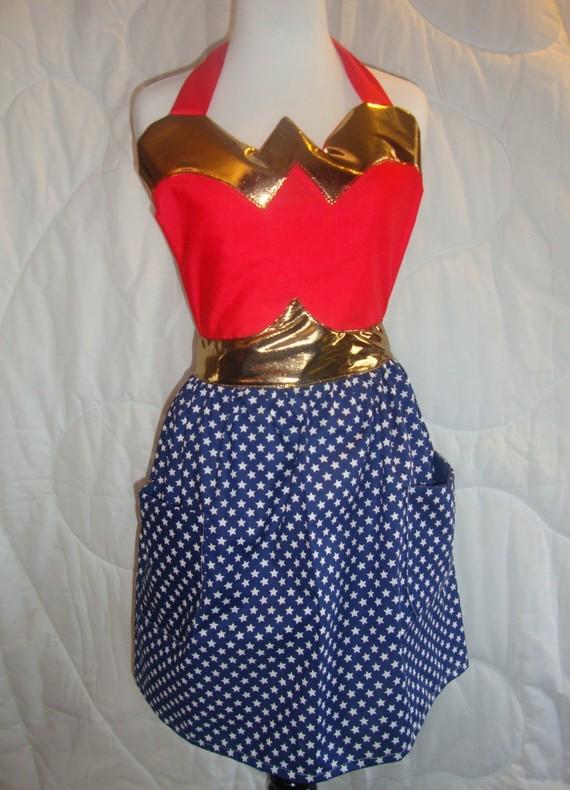 Wonderwoman apron