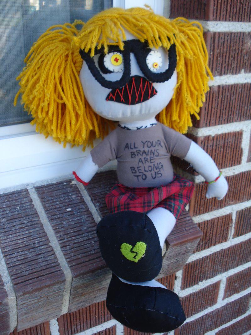 Zombie doll 038