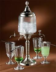 Absinth fountain