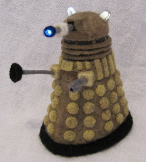 Needle_Felted_Dalek_by_GlassCamel