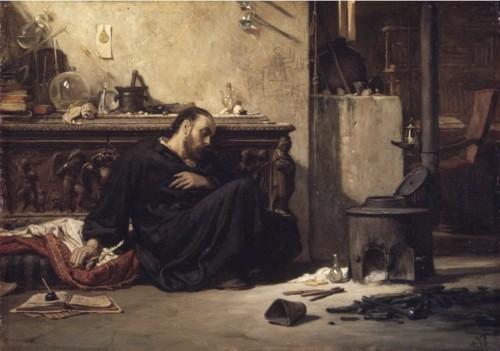 Dead alchemist